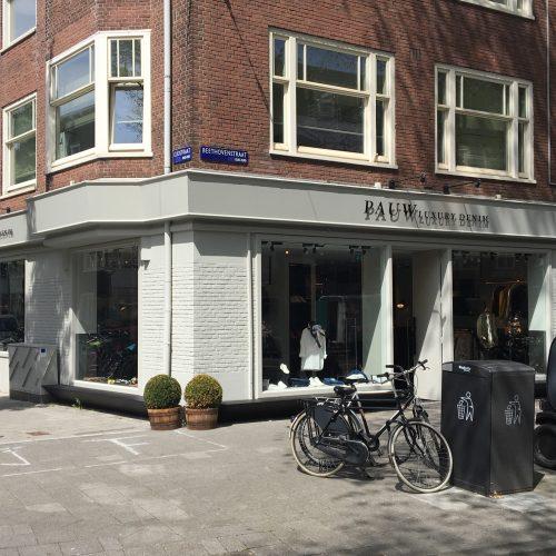 Verbouw Pauw Store Beethovenstraat Amsterdam